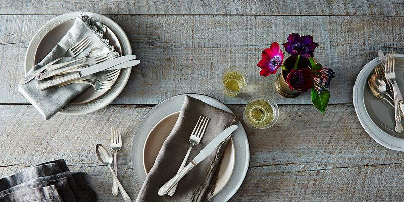 Mix and match to tablescape heaven.