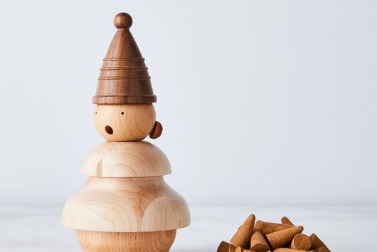 Handmade Wooden Gnome Smokers & Incense