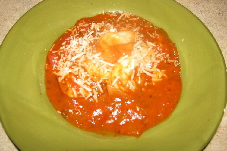 Bada-Bing Shrimp and Sauce