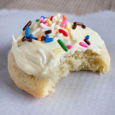 Fat, Pillowy Soft Gluten Free Sugar Cookies