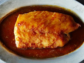 Baked Cod with Miso