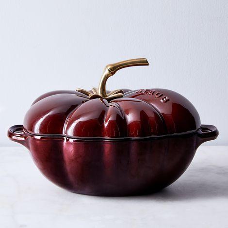 Staub Cast Iron Tomato Cocotte, 3QT