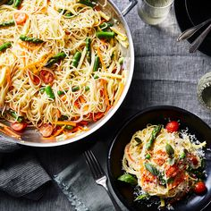 Martha Stewart's Super Famous One-Pot Pasta, Warm Weather Edition