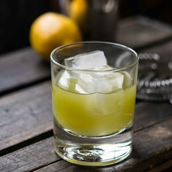 Celery Juice and Lemon Tom Collins (Mocktail or Cocktail)
