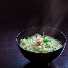 Seven-herb rice soup