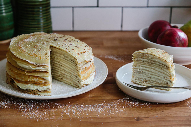 торт из тонких блинчиков рецепт с фото вещи, выполненные технологиям