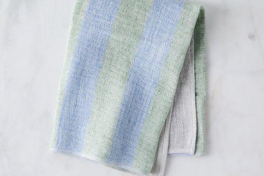 Striped Japanese Linen Tea Towels