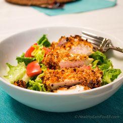 Crispy Buffalo Sauce Oven-Fried Chicken