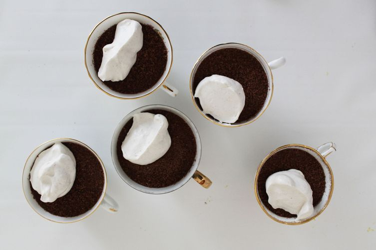 Buttermilk Chocolate Pudding