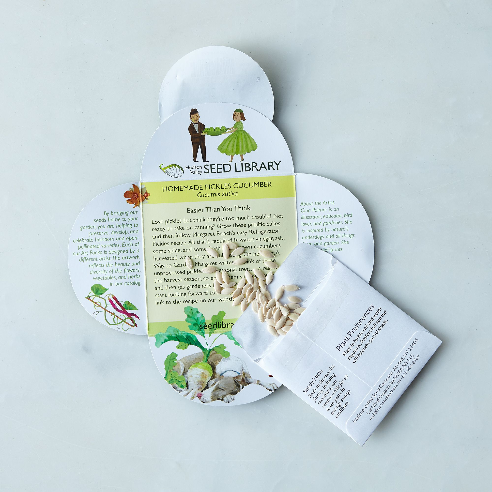 herb ve able seeds set of 10 on food52