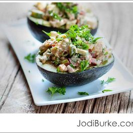 Stuffed Avocados with Chipolte Mayo