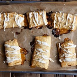 "Lemon-Ginger Curd ""Toaster"" Strudels"