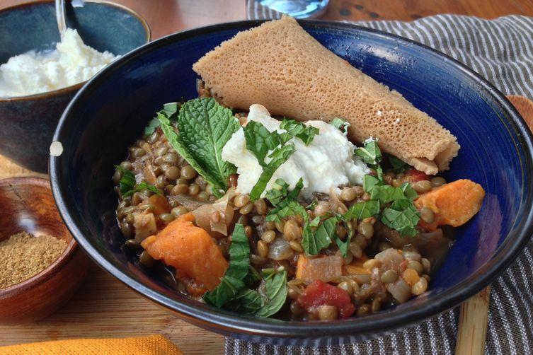 Misr Wot (Ethiopian Spicy Lentil Stew)
