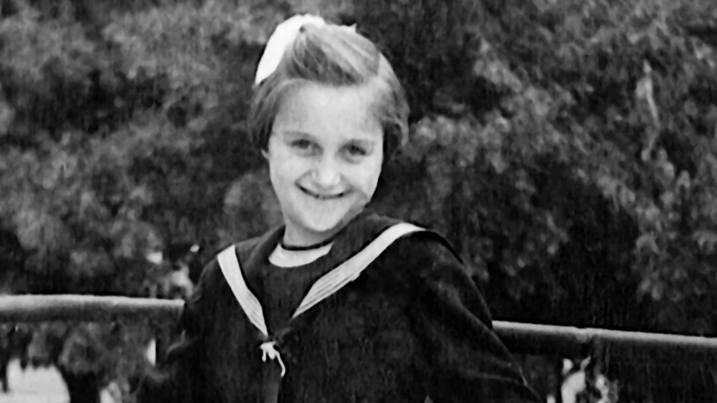 Bastianich as a young girl.