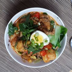 Spicy Malaysian Curried Noodles