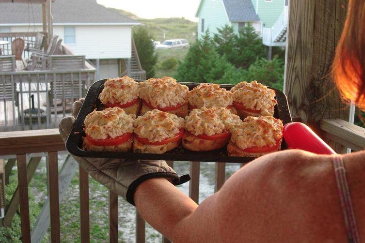 "Crab ""Toasties"""