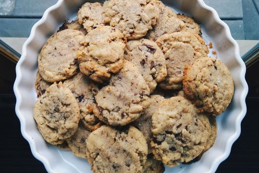 Ghee Chocolate Chip Cookies