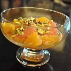 Cardamom Citrus Salad with a Crunch!