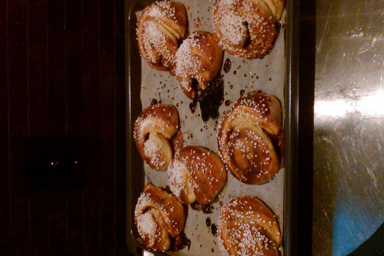 Swedish Cinnamon Buns (Kanelbulle)