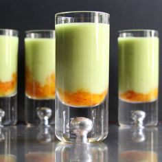 Avocado Citrus Chili Shooters