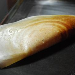 Masala Dosa ( Sourdough Crepes)