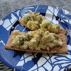 Egg Salad with Castelvetrano Olives