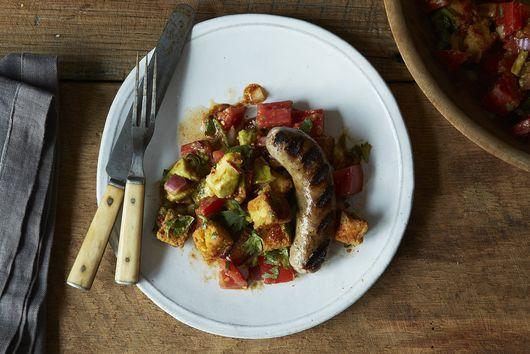 Chris Schlesinger & John Willoughby's Cornbread Salad