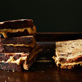 Eb055f3a ddd5 4bf5 ad30 8ce01e8cd43c  2015 0106 peanut butter honey sandwich rosemary chocolate bread 166