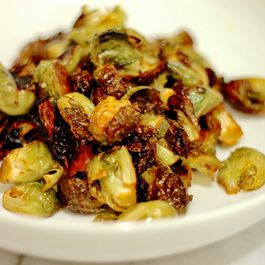Ginger Soy Brussels Sprouts
