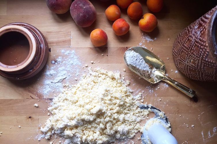 Apricot & Peach Galette