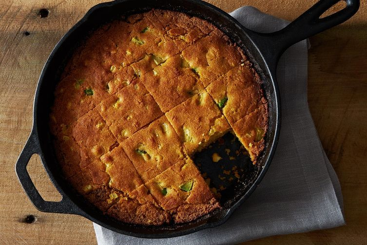 Avocado Cornbread from Food52