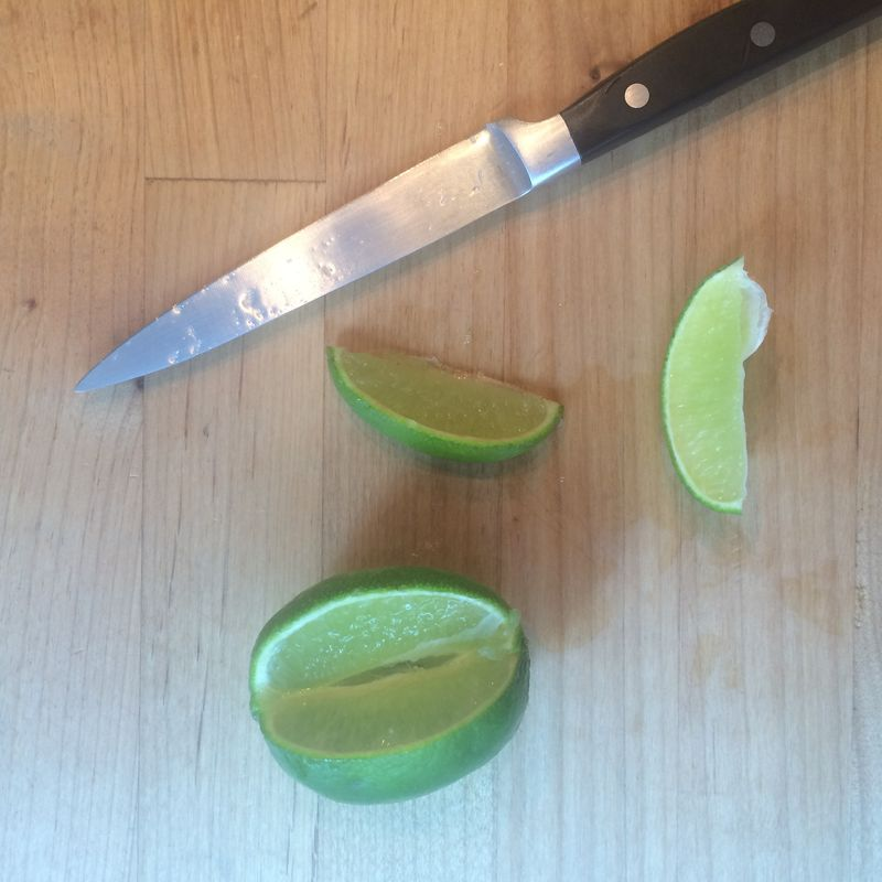 lime juice for itching