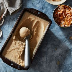Date and Honey Coconut Ice Cream
