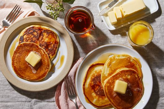 Better Buttermilk Pancakes With One Genius Ingredient Swap