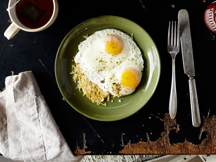 The Ultimate Cheesy, Eggy Breakfast Requires Only Two Ingredients