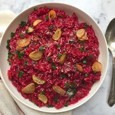 Red Wine & Beetroot Risotto – Instant Pot