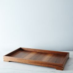 Handmade Wood & Brass Tray