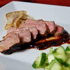 NY Strip Steak w/ Hoisin Steak Sauce