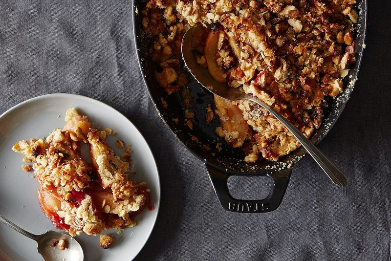Bea's No-Peel Apple Crisp