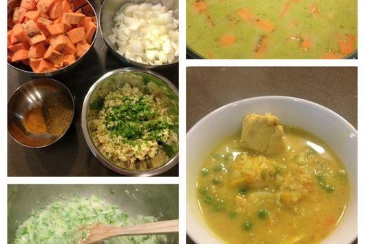 Spicy Thai Chicken and Sweet Potato Stew