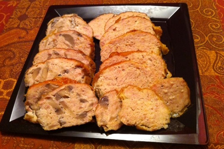 Chicken Galantine or Pate de Campagne Asian- Style