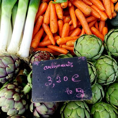 How to Ace a Farmers Market in France