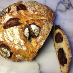 Bread That's Inspired by Giraffes (& Spotted with Chocolate)