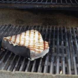 Simple Grilled Swordfish Steak