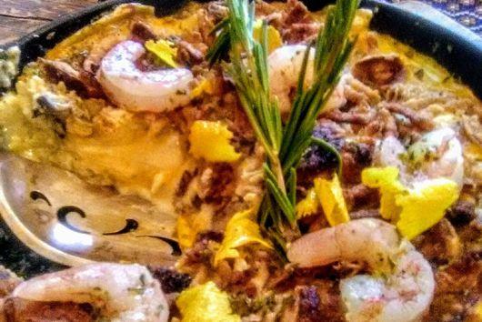 Broken Lasagne Seafood Frittata