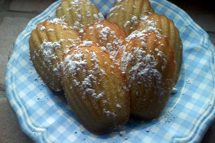Orange Scented Madeleines