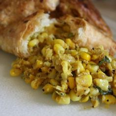 Corn Usal in Puff Pastry