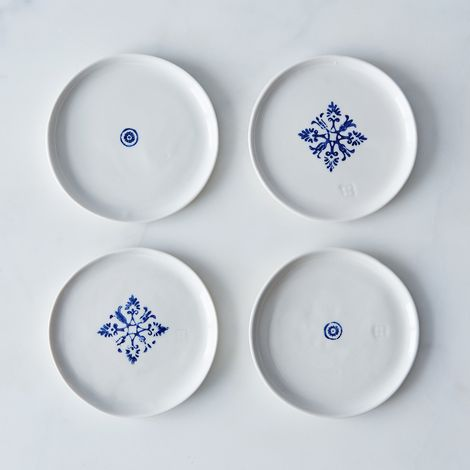 Porcelain Dessert Plates (Set of 4)