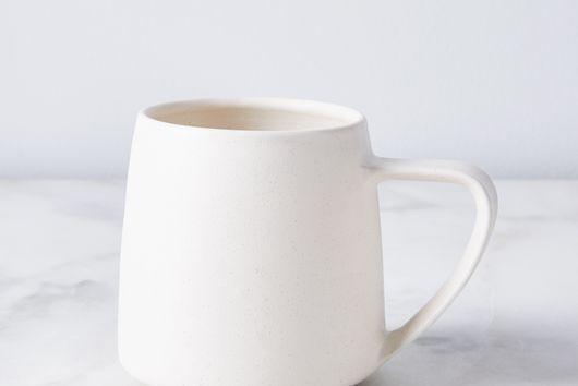 Handmade Porcelain Silhouette Mug