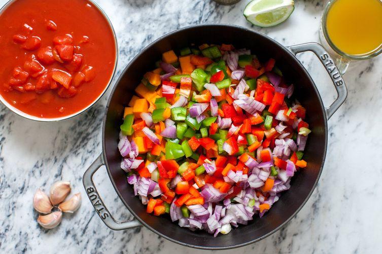 Vegetarian Squash Chili